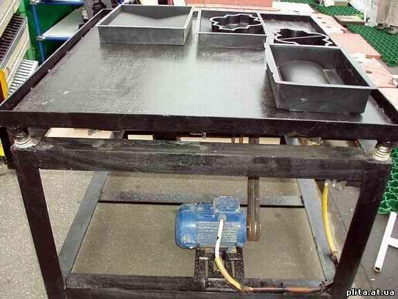 Как сделать оборудование для производства тротуарной плитки