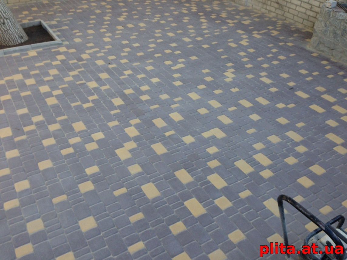 укладка тротуарной плитки Игуана