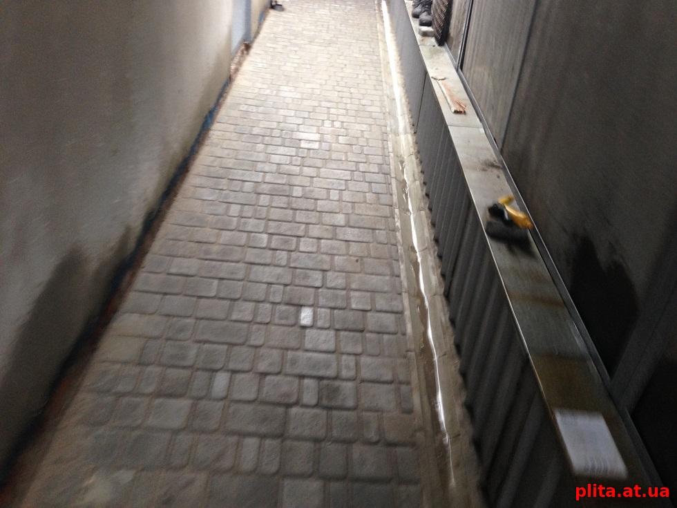 укладка тротуарной плитки брусчатки плитэкс1