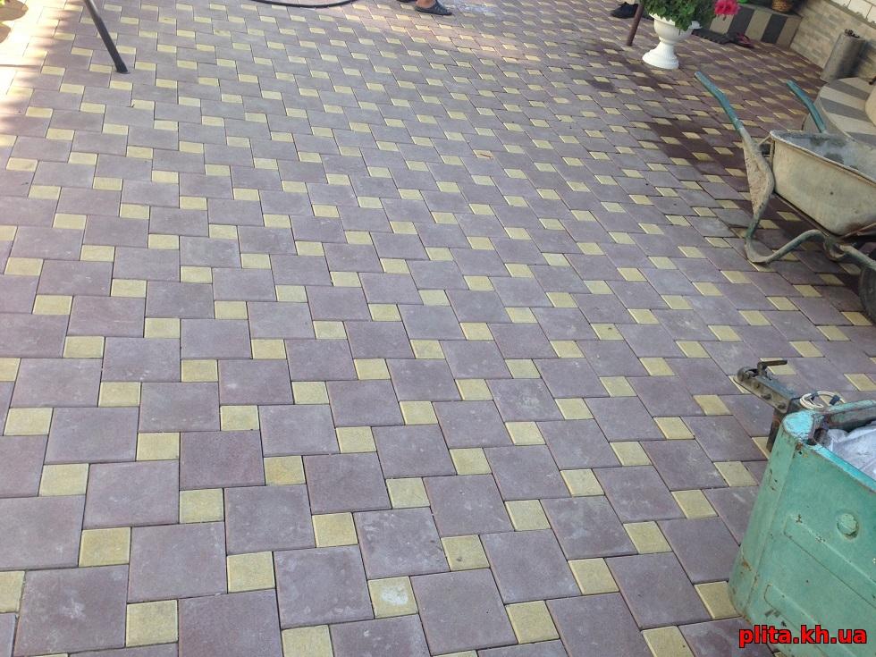 Плитка тротуарная безлюдовка