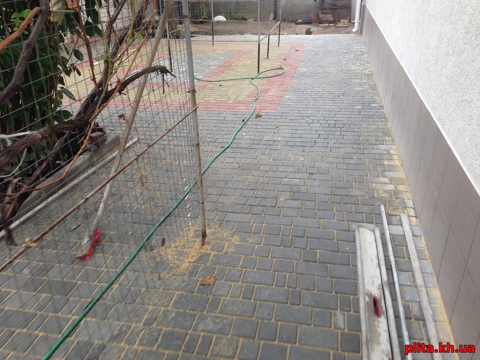 плитка тротуарная рогань