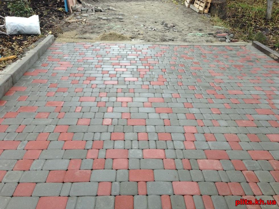 укладка тротуарной плитки в Харькове Восточный