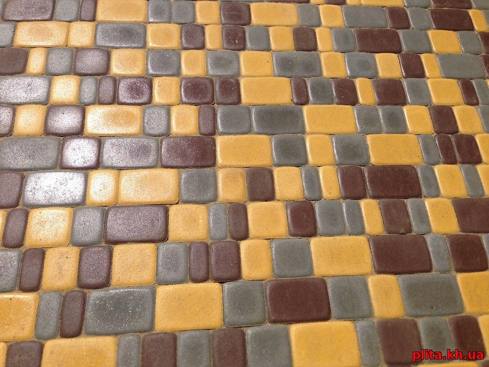 плитка старый город 3 цвета