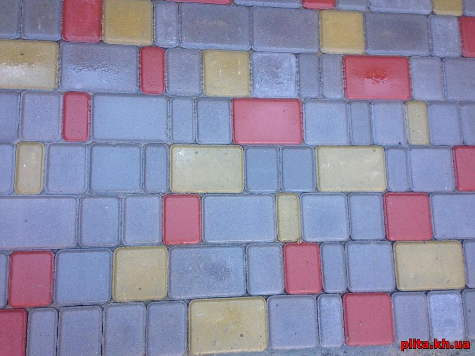 тротуарная плитка старый город Мерефа