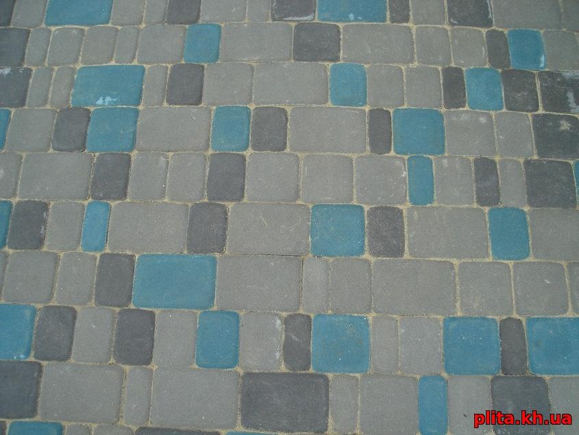 плитка Старый город - бирюзовый
