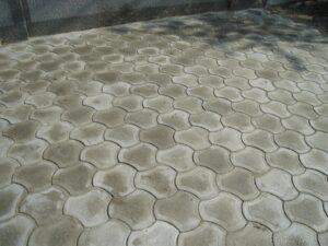 Тротуарная плитка бикини